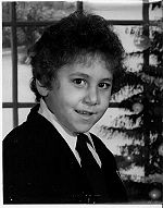 David Berkowitz at age 8